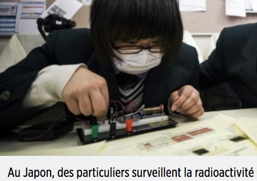 japon surveillance radioactivite